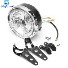 12V  8 Inch Universal Motorcycle Headlight Led Turn Signal Indicators Bracket For Honda/Yamaha/Suzuki/Kawasaki