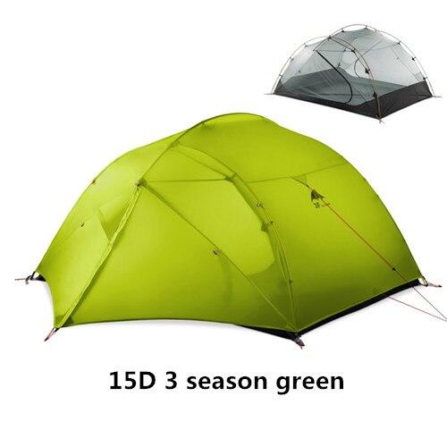 15D 3 season green