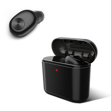 Mini Wireless Bluetooth 4.2/5.0 Earphone Stereo bass Handsfree Bluetooth Headset Sport Earbuds Headphones With Mic Charging Box roman business bluetooth earphone wireless stereo sport headset with mic earbuds handsfree headphones with packing