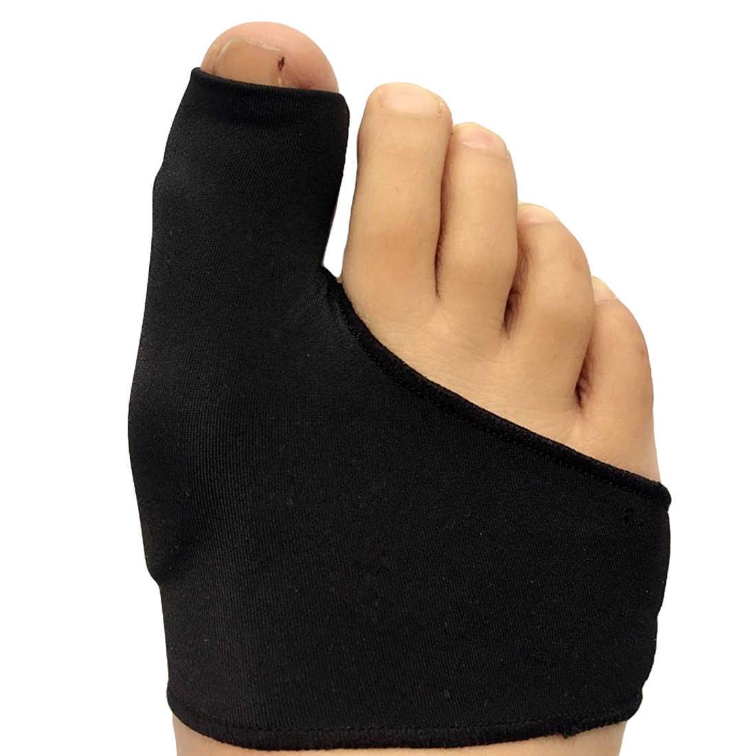 Bunion 파우치 교정 팔꿈치 발굽 통증 세트 발가락 분리기 발 뼈 엄지 교정 교정 페디큐어 양말 스트레이트 너