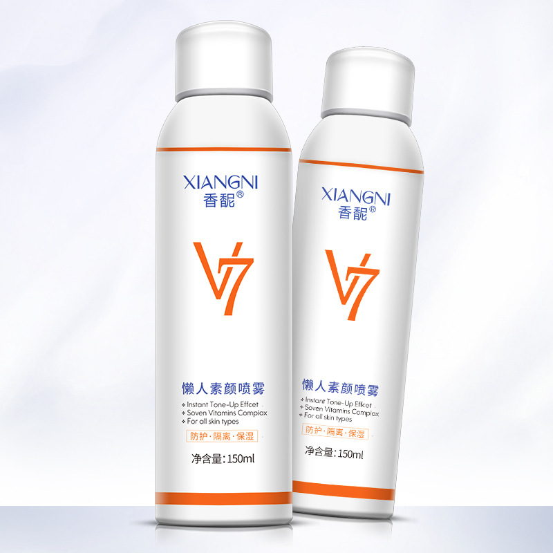 US $9 9 |XIANGNI V7perfect sunscreen white waterproof uv protection spray  Sunblock cosmetics Natural Brightening make up base skin care-in BB & CC