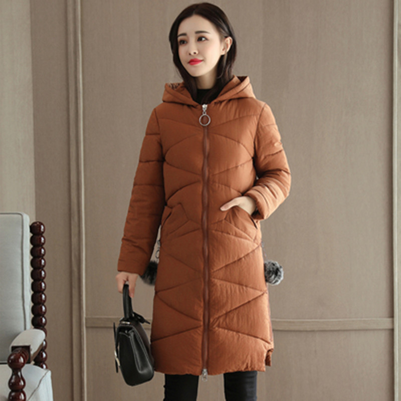 select for latest good selling catch US $24.46 52% OFF|Woman Winter Coat 2018 caramel colour Thin Warm Down  Jacket Female Overcoat Slim Solid Jackets Winter Coat Portable Parkas-in  Parkas ...