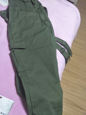 2019 Spring Men's Suspenders Harem pants Ankle Length Hip Hop pocket jean jumpsuits Male slim fit Tooling Overalls A53005 2