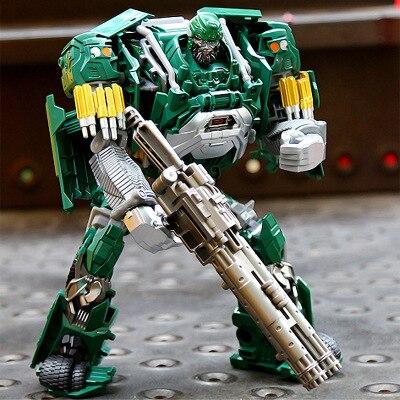 Новейшая увеличенная серия сплав автомобиль робот трансформер 33016 ДЕТЕКТИВНАЯ фигурка робота игрушка кинематографическая тематика робот