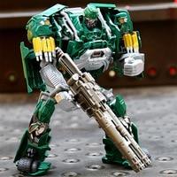 Новые дополненное издание сплава автомобиля робот трансформер 33016 детектив робот фигурка игрушка Тема фильма робот Классические игрушки