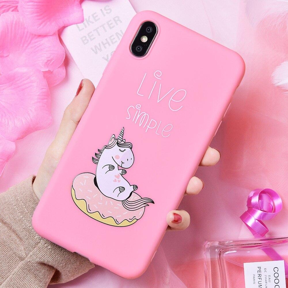 Unicorn Pink 7 Iphone Case