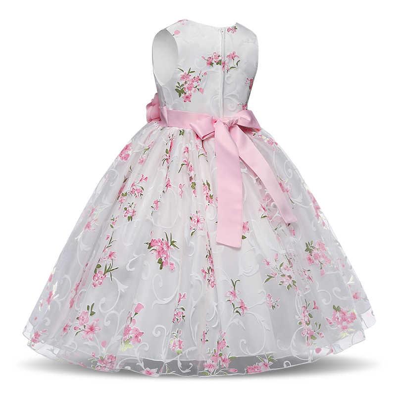 Vestido De Novia Para Niña 3 4 5 6 7 8 Años Vestidos De Bautizo Ropa De Fiesta Para Niños Verano Vestidos De Disfraces Para Niños
