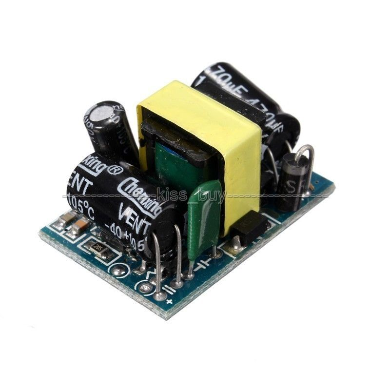 Step Down Voltage Regulator AC 90V~240V 110v 220v To 12V 450mA 5W Switching Switch Power Supply Converter