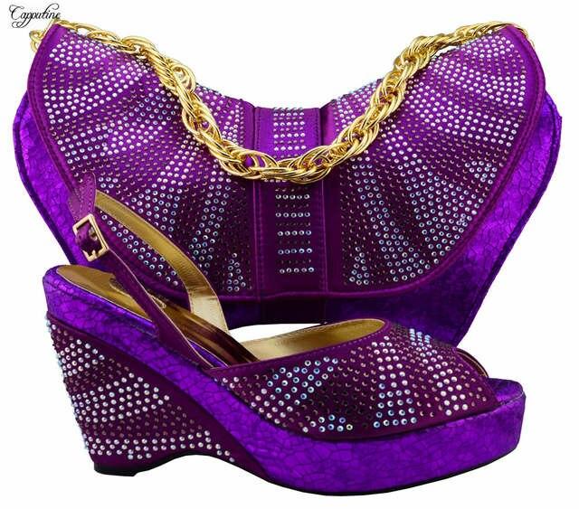 Prachtige Afrikaanse partij dames sleehak schoenen en