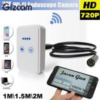 1pc Wifi Wireless For IOS Android Endoscope HD 2 0MP 9mm 1 1 5 2m Snake