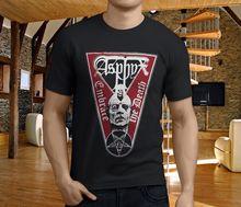 Plain T Shirts Men'S O-Neck Graphic Short Sleeve Asphyx Unleashed Grave Amorphis Pungent Stench Black T Shirts ditko unleashed