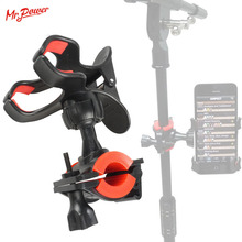 цены Phone Holder Clip on Stage Microphone Stand Plastic 360 Degree Rotating Support Holder New
