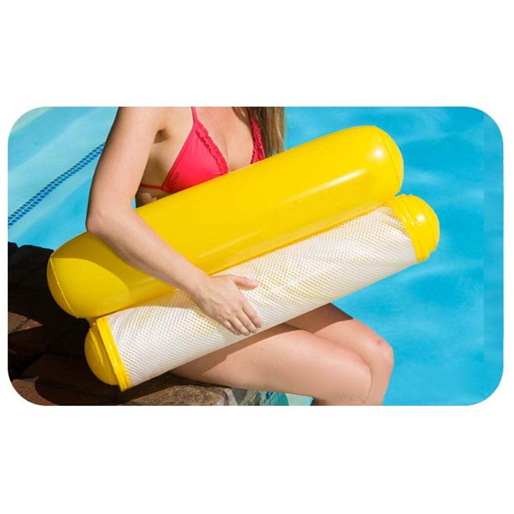 Плавательный круг из стул солнечных ванн плавательный складной бассейн надувной матрас летний плавательный круг из игрушки на открытом воздухе озеро река океан - Цвет: C