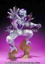 Free Shipping 15CM Anime Cartoon Dragon Ball Combat Edition Z Freeza Freezer PVC Action Figure Collectible Toy