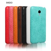 IMIDO Crocodile Grain PU Leather For Meizu M2 Mini 5.0 Inch hard Protective Case Cover For Meizu M2 Mini 5.0 Inch