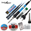 60W 220V EU Electric Adjustable Temperature Welding Solder Soldering Iron Rework Repair Tool With Suction Line