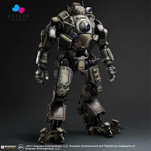 Kissen Movie gams Titanfall Atlas Action Figure Playarts Kai figurine Toys Collection Model PVC 27 cm Play arts Kai brinquedos