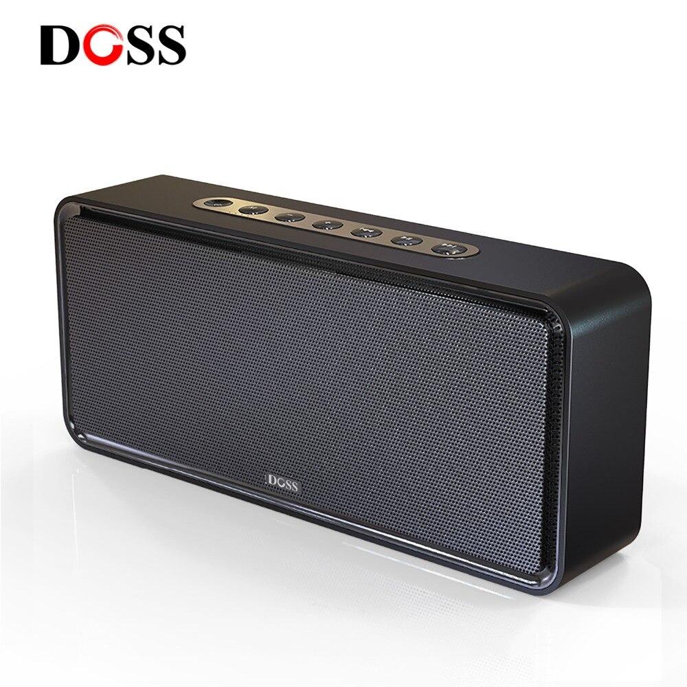DOSS SoundBox XL Bluetooth Lautsprecher Drahtlose Tragbare Bluetooth Lautsprecher 32W 3D Stereo Bold Bass Subwoofer Unterstützung TF AUX