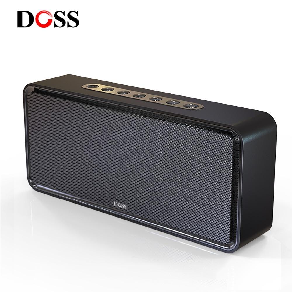 DOSS SoundBox XL haut-parleur Bluetooth sans fil Portable haut-parleurs Bluetooth 32 W 3D stéréo caisson de basses audacieux Support TF AUX