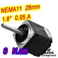 FREE SHIPPING Nema11 Stepper Motor Model 11HS20 0956S 1 8 Deg 0 95 A 9 N