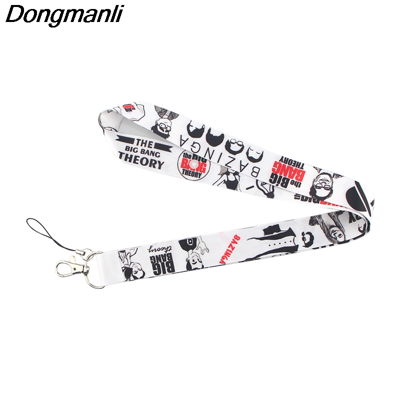 P3886 Dongmanli TBBT Keychain Lanyard Badge ID Lanyards/ Mobile Phone Rope/ Key Lanyard Neck Straps Accessories