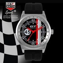 GT RELOJ Extreme Conductor F1 GT Racing Sports Hombres Militray Relojes Correa de Silicona Reloj de pulsera de Cuarzo de Las Mujeres Relojes de Moda Casual