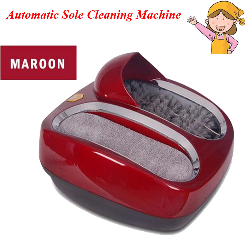 1pc Fully Automatic Intelligent Sole Cleaning Machine Shoe Polishing Equipment for Living Room or Office Model 412412