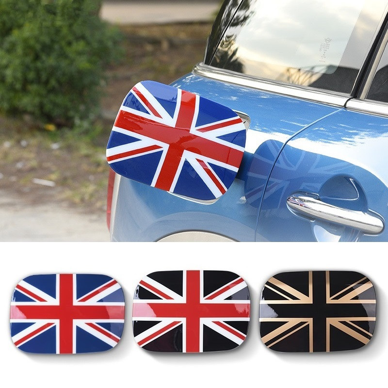 ABS Auto Car Fuel Tank Cap Decoration Sticker Tank Decal Case Cover For Mini Cooper Countryman F60 2017 2018 Exterior Styling