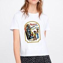Pulp Fiction Movie Funny Print T Shirt Women Mia Harajuku Ulzzang Summer T-shirt Fashion Virgin Mary Tshirt Top Tees Female