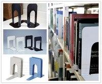 от скольжения, офис и школа продукция настольные принадлежности организатор черный письмо металлические подставки для книг