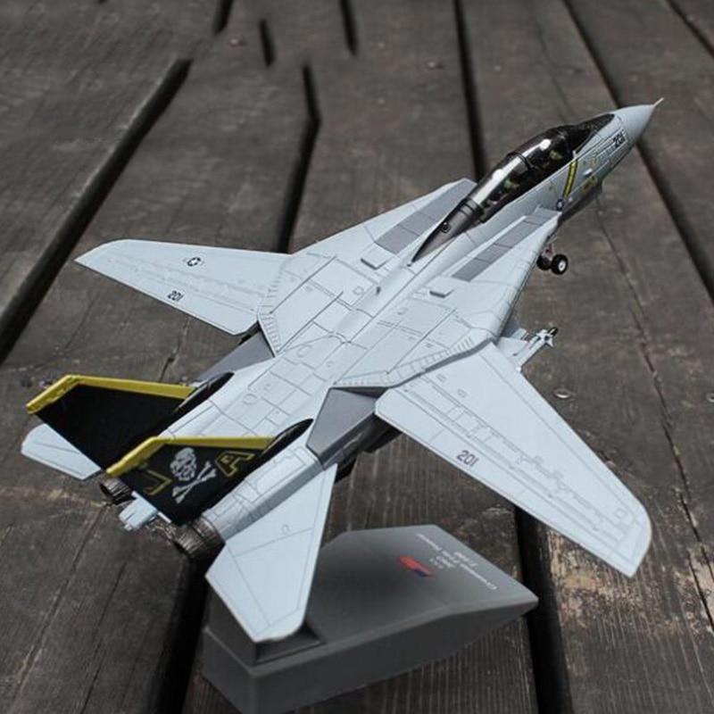 harayaa 1:100 3D Model F-14 Tomcat Attack Fighter Plane Aircraft Model Toys