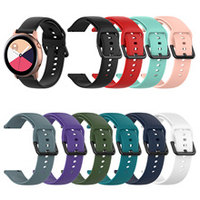 silicone sport watch band For galaxy Active 2 (40mm 46mm) for Galaxy active (40mm) R500 Gear Sport R600 amazfit bip