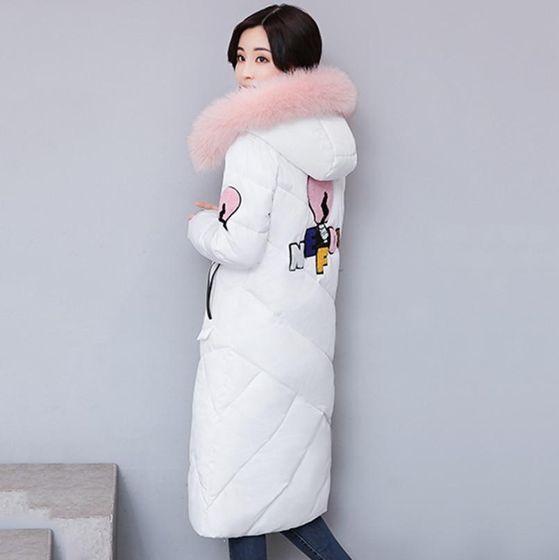Noir gris À Nouvelles Anasunmoon Manteau Femelle Mince 2017 Femmes Green Coton De army Capuchon D'hiver Ouatée Femme Veste Vêtements blanc Parkas 7wp7qTxa