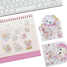 1pack/lot Kawaii Cats Style Sticker DIY Notes Tools For Album Diary Hand Account Decoration Cute Students Kids Gift