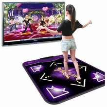 Zebra 93cmx83cmx11mm Single PC Menu Computer Functional Dance Pad USB Non-Slip Dancing Mat For Fun