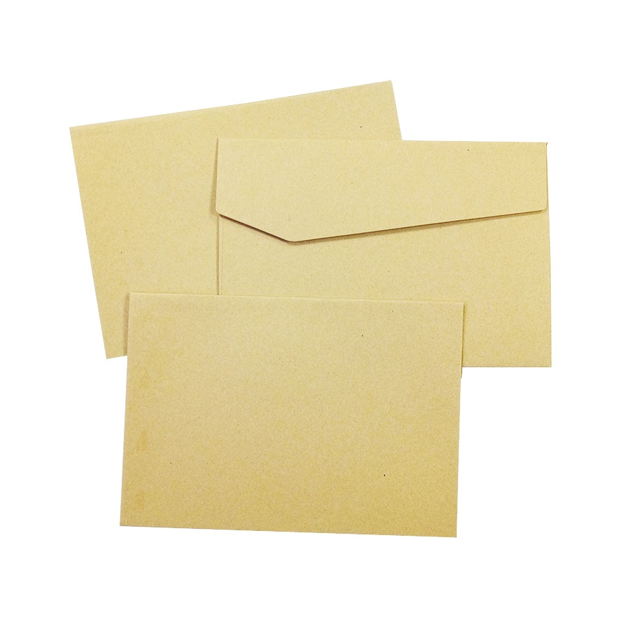 100Pcs/lot  Vintage Kraft Paper Envelopes  Europen Style DIY Multifunction For Wedding Letter Greeting Card 170*120mm