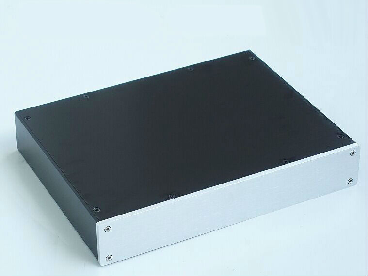 BZ3205 Aluminum enclosure /DAC case/ amplifier chassis BOX for DIY 320*55*246mmBZ3205 Aluminum enclosure /DAC case/ amplifier chassis BOX for DIY 320*55*246mm
