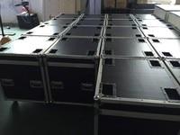 P4 Die Casting Aluminum Flight Case 512mmX512mm Aluminium Die Casting Cabinet P4and P8 Flight Case 1