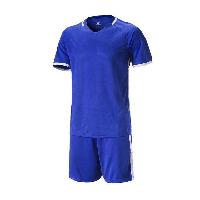 Custom Professional Adulto crianças Respirável Conjunto Camisa De Futebol  Treino 2016 2017 Camisas de futebol 6b9c5ae391ab6