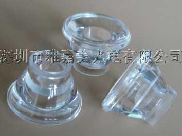 CREE lente 15.5mm lentes côncavas 15 graus CREE XLamp XR-E lentes LED 1 W 3 W Refletor Colimador