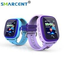 Водонепроницаемый DF25  Детей GPS Плавать сенсорный телефон smart watch SOS Вызова Расположение Устройства Трекер Дети Безопасный Anti-Потерянный монитор дети часы с gps часы gps детские часы с gps трекер для детей
