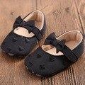 Recién nacido 0-18 m baby girl shoes primeros caminante precioso zapatillas de suela blanda infantil kids bowknot en forma de corazón niñas zapatos de la princesa