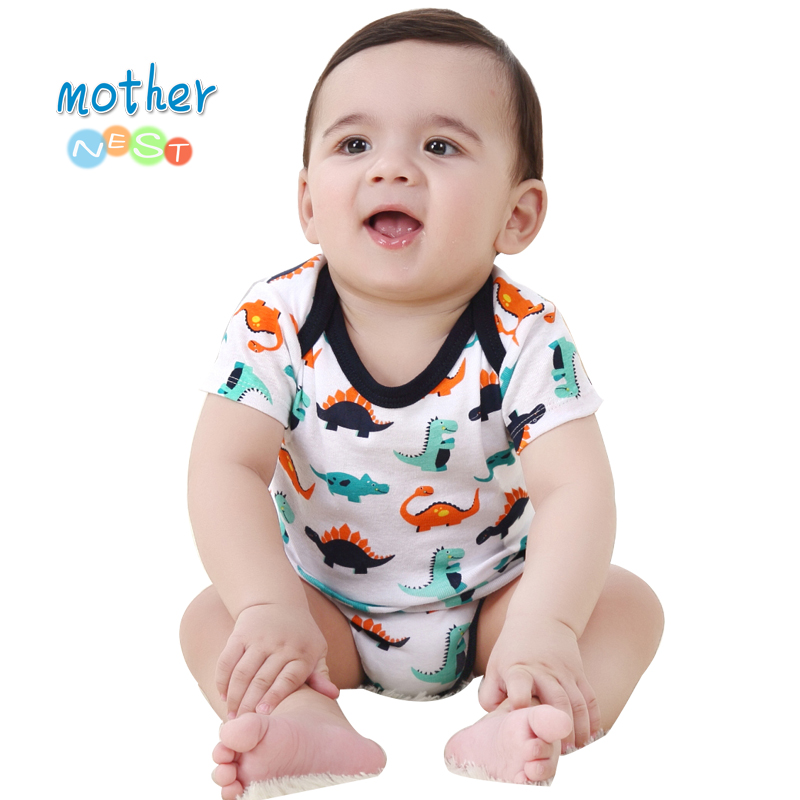 Mother & Kids Skillful Knitting And Elegant Design Bodysuits Promotion!2018 New 25 Style Baby Girls&boys Costume Monkey Printed Infant Baby Bodysuit New Born Baby Clothes To Be Renowned Both At Home And Abroad For Exquisite Workmanship