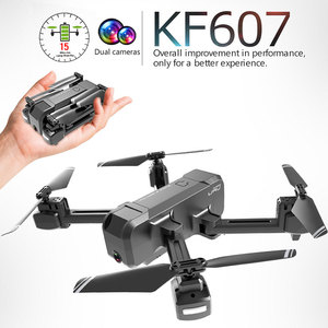 Image 2 - KF607 WIFI FPV RC Foldable Drone 4K Camera Ultra HD Dual Camera Drone Headless Mode One touch Landing Quadcopter Kids Gifts
