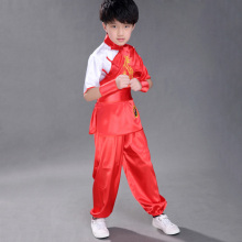 Colorful Traditional Kung Fu Costume For Kids