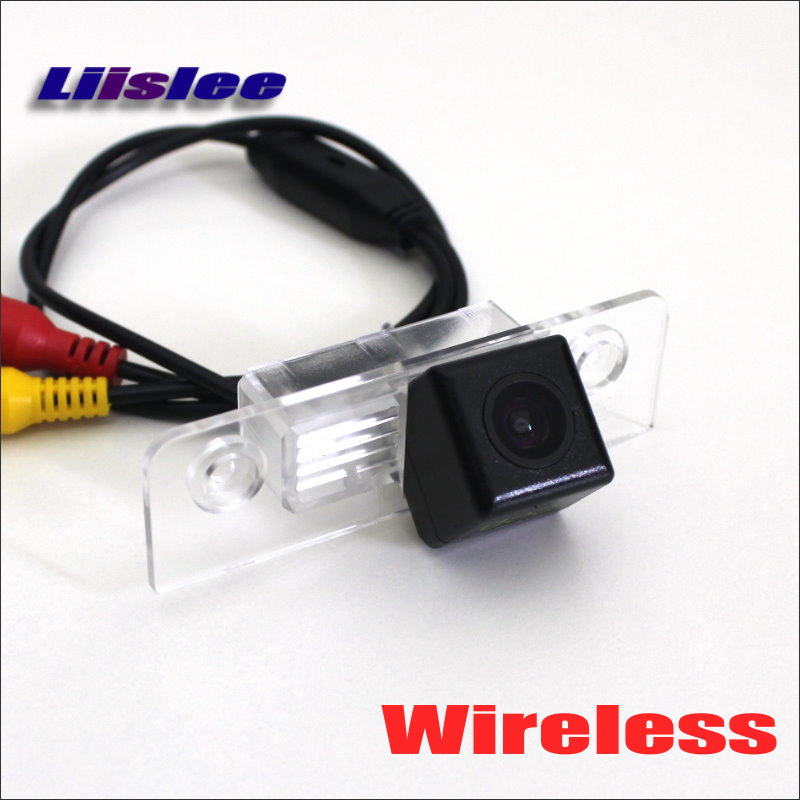 Liislee For Ford Fiesta ST Classic 2.4 Ghz Wireless Rear View Camera RCA Video Transmitter Receiver Kit for Rearview Monitor image