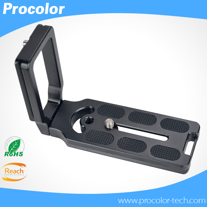High quality photography accessories Universal MPU100 Quick Release L Plate Bracket for Camera Benro Arca Swiss