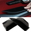 Door Inner Storage Box Container Black 4pcs For Land Rover Range Rover Evoque 2011-2015