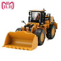 1:50 Alloy Loader Truck Construction Vehicle Car Model Toy For Collection Kids Toys Boys Gift