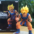 1pc/lot Dragon Ball Z Action Figures Son Goku Super Saiyan 2 Anime Dragon Ball Z Figures DBZ Esferas Del Dragon Toys 14cm